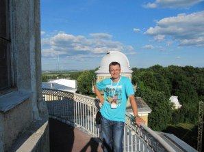 Luboš Brát na Pulkovské observatoři