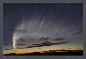 Kometa C/2006 P1 McNaught v Chile. Autor: Miloslav Druckmüller