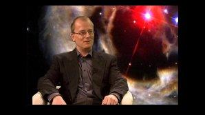 Ladislav Šmelcer v pořadu Hlubinami vesmíru. Zdroj: TV Noe.