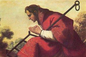 Svatý Vavřinec. Autor: Francisco de Zurbarán.