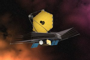 James Webb Space Telescope (JWST) - kresba Autor: ESA