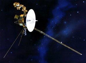 Voyager 1 v mezihvězdném prostoru. Autor: NASA.