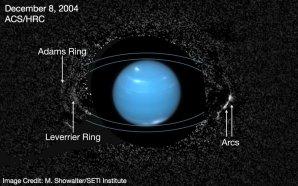 Planeta Neptun Autor: M. Showalter/SETI Institute