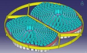 Konstrukce objektivu rentgenové družice ATHENA Autor: ESA