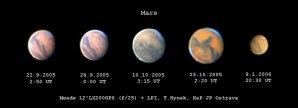 Mars - opozice 2005 Autor: Tomáš Hynek