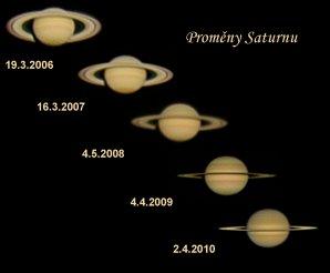 Proměny Saturnu Autor: Vlastimil Vojáček