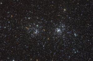 NGC 869 a NGC 884: Dvojitá otevřená hvězdokupa Autor: Thomas V. Davis