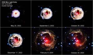 Světelné echo V838 Mon Autor: Hubble/NASA