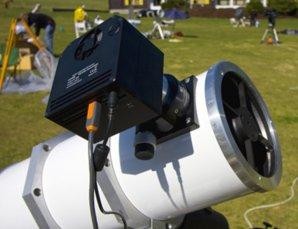 CCD kamera na dalekohledu Autor: Martin Myslivec