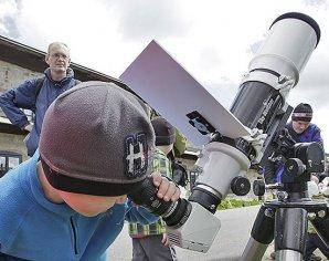 Dalekohled opatřený Herschelovým hranolem Autor: Aleš Majer