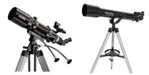 Malé čočkové dalekohledy na azimutálních montážích Autor: Sekce pro děti a mládež