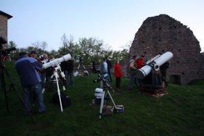 Setkání pozorovatelů na hradě Litice Autor: Martin Mašek
