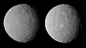 Ceres z DAWN 19. 2. 2015 Autor: NASA/JPL-Caltech/UCLA/MPS/DLR/IDA