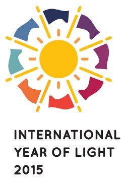 Mezinárodní rok světla logo
