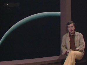 Jiří Grygar ve svém pořadu Okna vesmíru dokořán. Autor: Filmová databáze.