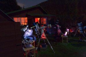 Pozorování na praktiku v Peci pod Sněžkou Autor: Martin Mašek