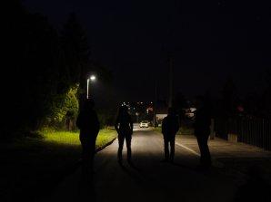 V Holicích jsme se SRVO diskutovali o rovnoměrnosti osvětlení a správném směrování světla. Autor: Michal Bareš