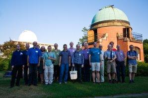 Účastníci Evropské kometární konference ECCO 2015 v Ondřejově Autor: Martin Mašek
