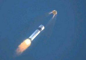 Animace oddělení Dragonu od nosné rakety při zkoušce In-Flight Abort Test Autor: NASASpaceFlight.com