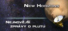 New Horizons - nejnovější zprávy o Plutu. Autor: ČAS