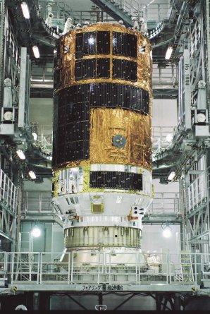 HTV 5 v montážní hale na kosmodromu Tanegašima Autor: spaceflightnow.com