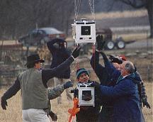 Start stratosférického balónu 17.11.1998 Autor: NASA MSFC