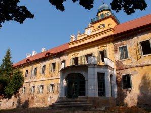 Zámek Štědrá Autor: Západočeská pobočka České astronomické společnosti
