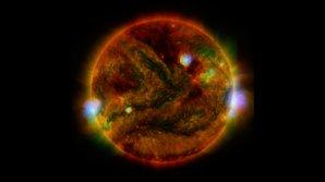 Snímek z 29. dubna, sonda NuSTAR Autor: NASA/JPL-Caltech/GSFC/JAXA