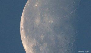 Zákryt Aldebaranu Měsícem. Autor: Milan Antoš.