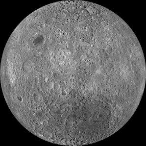Odvrácená strana Měsíce podle snímků sondy LRO Autor: NASA / GSFC / Arizona State Univ. / Lunar Reconnaissance Orbiter