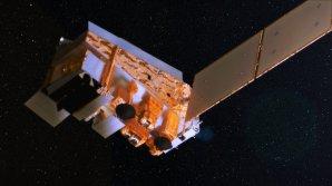 Animace sondy Suomi NPP v kosmickém prostoru Autor: wikipedia
