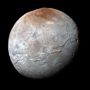 Charon – největší měsíc Pluta Autor: NASA/JHUAPL/SwRI