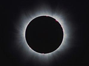 Zatmění Slunce v Maďarsku - soutěžní snímek. Autor: Pavel Vála.
