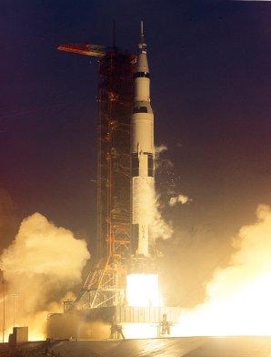 Vynesla lidi k Měsíci, o 33 let později její kus zaměstnával mysl astronomů Autor: www.spacefacts.de