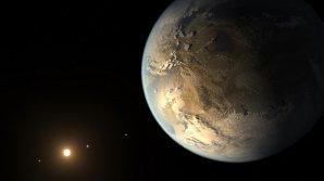 Exoplaneta Kepler-438b v představě malíře Autor: NASA Ames/SETI Institute/JPL-Caltech