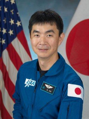 Japonský astronaut Kimiya Yui v programu JAXA. Autor: Kimiya Yui, ISS/NASA.