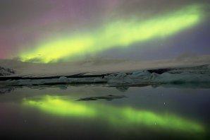 Moja prvá noc s polárnou žiarou v živote. Autor: Marián Dujnič