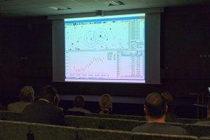 Pavel Cagaš předvádí fotometrické funkce v programu SIPS Autor: Martin Mašek