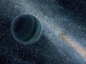 Hypotetická devátá planeta Sluneční soustavy obíhá kolem Slunce několikanásobně dále než Pluto. Astronomové předpokládají, že by mohla dosahovat až velikosti Neptunu. Autor: ACE/NASA/Caltech