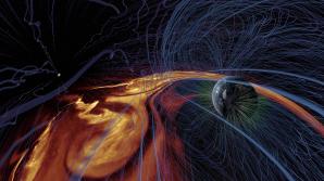 V zajetí magnetického pole Slunce v pořadu Sluneční superbouře. Autor: Hvězdárna a planetárium Brno