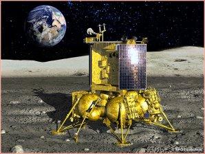 Luna Glob na povrchu Měsíce Autor: NPO Lavočkin