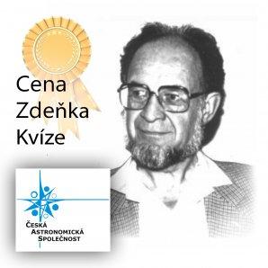 Cena Zdeňka Kvíze. Autor: ČAS.