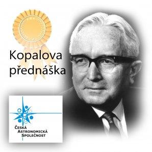 Kopalova přednáška - cena České astronomické společnosti. Autor: ČAS.