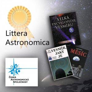 Cena Littera Astronomica České astronomické společnosti. Autor: ČAS.