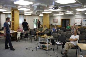Přednáška v seminární místnosti v Ondřejově Autor: Martin Mašek
