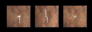Modul Beagle 2 objevený vloni na povrchu Marsu sondou MRO Autor: NASA/JPL