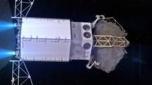 ANIMACE: Odlet ARRM od asteroidu se získaným vzorkem z povrchu Autor: NASA