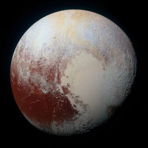 Pluto v nepravých barvách Autor: NASA/Johns Hopkins University Applied Physics Laboratory/SWRI