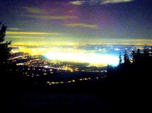 Polární záře 6. března 2016 z kamery na vrchu Javorový. Autor: ČHMÚ
