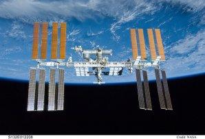 Mezinárodní kosmická stanice nad Zemí
